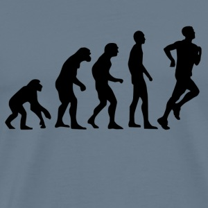 Human Evolution Jogging - Männer Premium T-Shirt