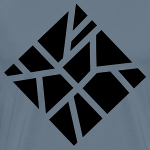 Geometric square - Men's Premium T-Shirt