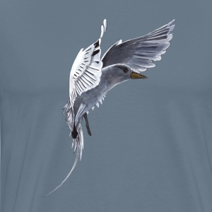 White Tail Tropical Bird - Men's Premium T-Shirt