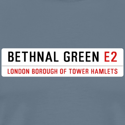 Bethnal Green Street Sign - Men's Premium T-Shirt