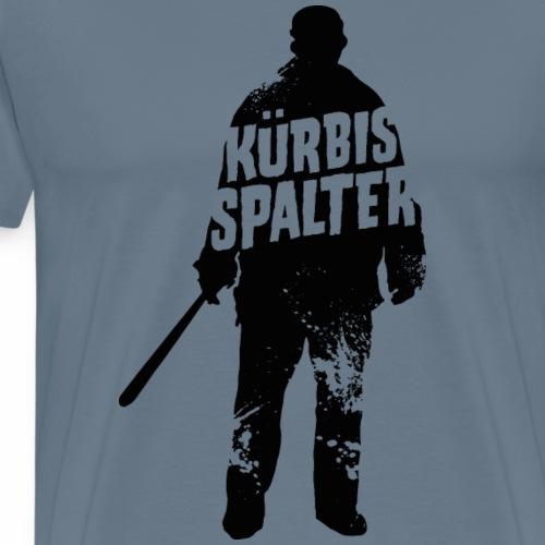 Halloween Shirt Kürbis Spalter - Männer Premium T-Shirt