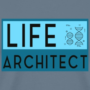 Life Architect - Premium-T-shirt herr