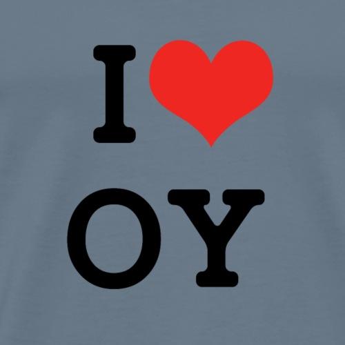 I ❤ OY - Männer Premium T-Shirt