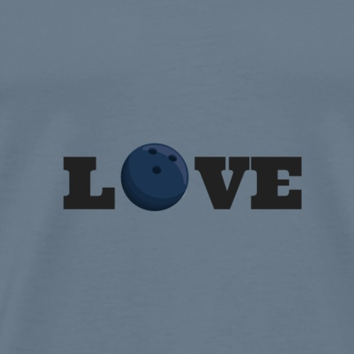 Love bowling - T-shirt Premium Homme