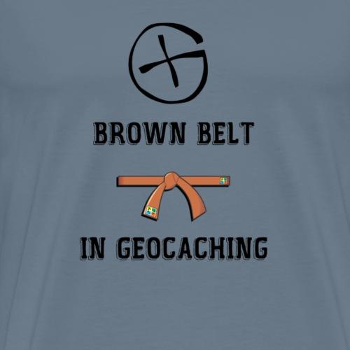 BROWN BELT - T-shirt Premium Homme