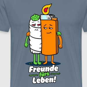 Venner for livet - Herre premium T-shirt