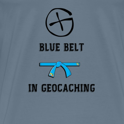 BLUE BELT - T-shirt Premium Homme