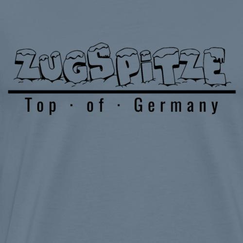 Zugspitze mit Schnee - Top of Germany - Männer Premium T-Shirt