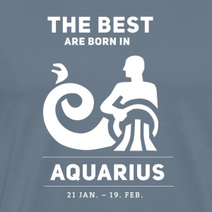 wassermann know best are bornin january horoscope st - Men's Premium T-Shirt