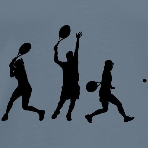 tennis en action - T-shirt Premium Homme