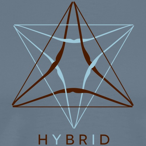 Hybrid (Bogenschießen by BOWTIQUE) - Männer Premium T-Shirt
