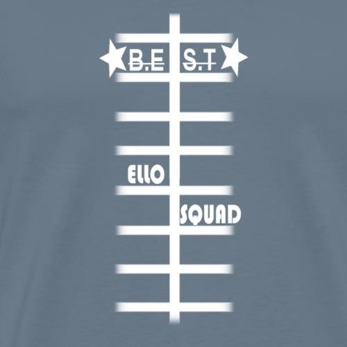 B.E.S.T Skeleton ElloSQUAD - Koszulka męska Premium