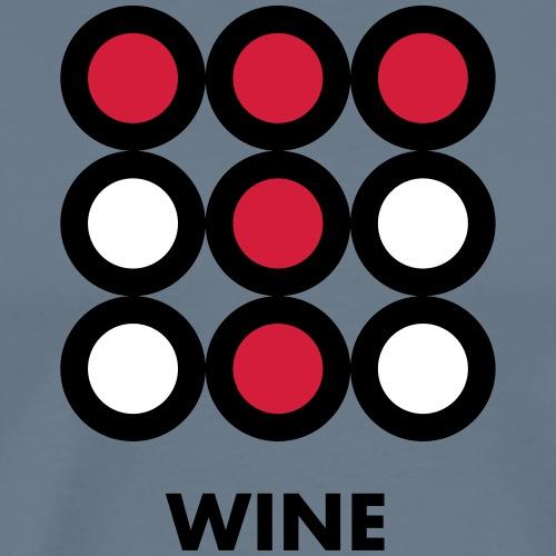 Wine. Vedi anche la versione Beer - Maglietta Premium da uomo