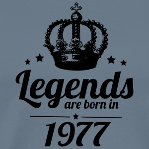 Legends 1977 - Herre premium T-shirt