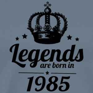 Legends 1985 - Herre premium T-shirt