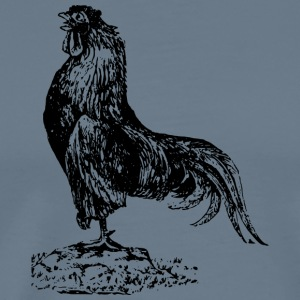 chicken187 - Premium-T-shirt herr