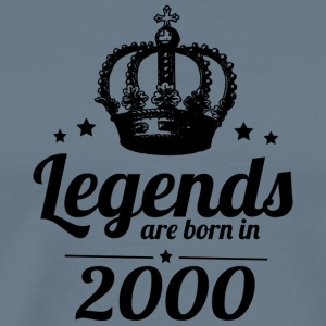 Legends 2000 - Herre premium T-shirt
