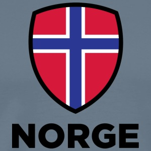 261 norway national flag - Men's Premium T-Shirt