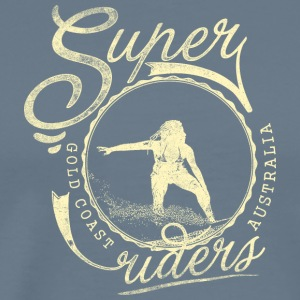 super surfer - Men's Premium T-Shirt
