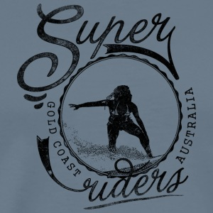 super surfer black - Men's Premium T-Shirt