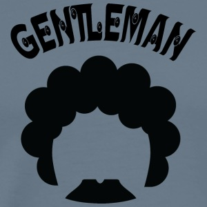 GENTLEMAN curvy black - Men's Premium T-Shirt