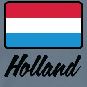 National Flag of Holland - Herre premium T-shirt