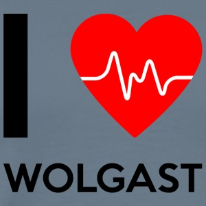 I Love Wolgast - I love Wolgast - Men's Premium T-Shirt