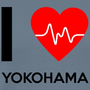 I Love Yokohama - I love Yokohama - Men's Premium T-Shirt