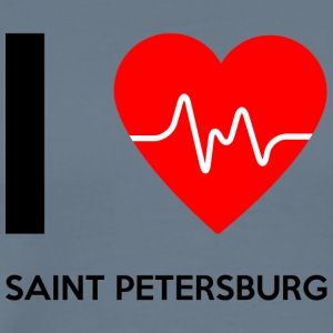 I Love Saint Petersburg - I love St. Petersburg - Men's Premium T-Shirt