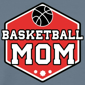 basketball Mom - Premium T-skjorte for menn