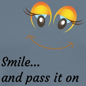 smile and pass it on - Men's Premium T-Shirt
