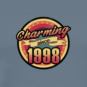 Gift for the 19th birthday - vintage 1998 - Men's Premium T-Shirt