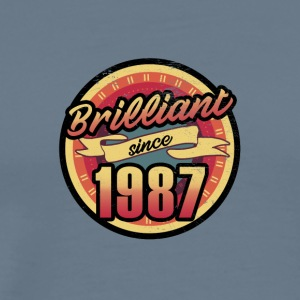 Gift for the 30th birthday - vintage 1987 - Men's Premium T-Shirt