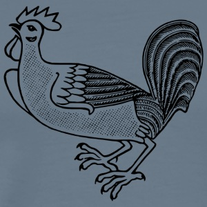 chicken101 - Premium-T-shirt herr
