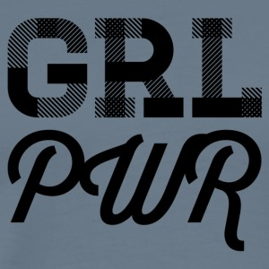 girlpower - Premium-T-shirt herr