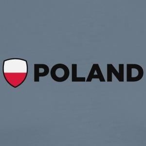 National Flag of Poland - Premium-T-shirt herr