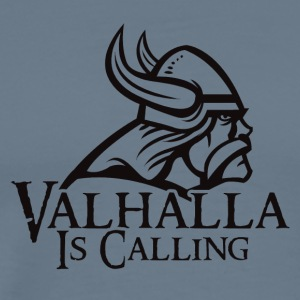 Viking Valhalla Is Calling - Mannen Premium T-shirt
