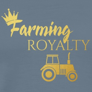 Farmer / Farmer / Bauer: Farming Royalty - Men's Premium T-Shirt
