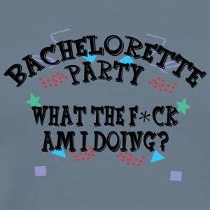 Bachelorette Party Funny - Premium T-skjorte for menn