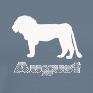 august - Premium T-skjorte for menn