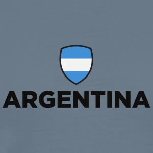 National Flag Of Argentina - Men's Premium T-Shirt