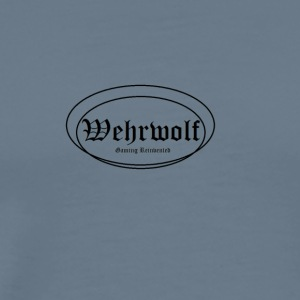 Wehrwolf_-_Gaming_Reinvented - Premium T-skjorte for menn