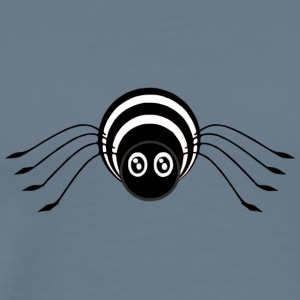 Sweed svart och withe Spider - Premium-T-shirt herr
