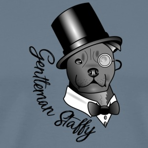 Gentleman Staffy - T-shirt Premium Homme