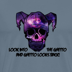 Look into the Ghetto and Ghetto looks back! - Männer Premium T-Shirt
