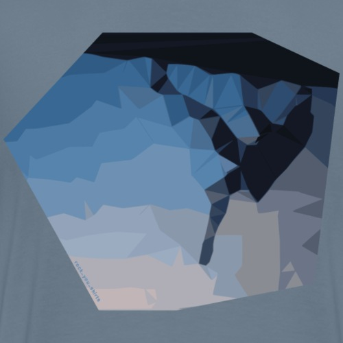 kletterer triangulation - Männer Premium T-Shirt