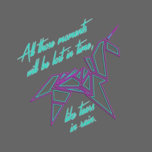 spaceunicorn clear - Männer Premium T-Shirt