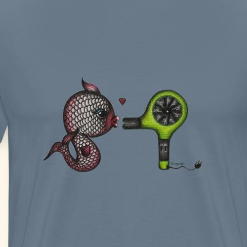 fish in love - Männer Premium T-Shirt