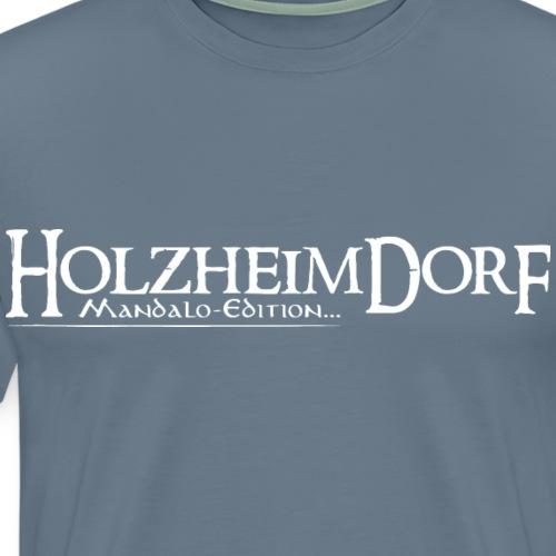 HolzheimDorf - Mandalo-Edition Logo - Männer Premium T-Shirt