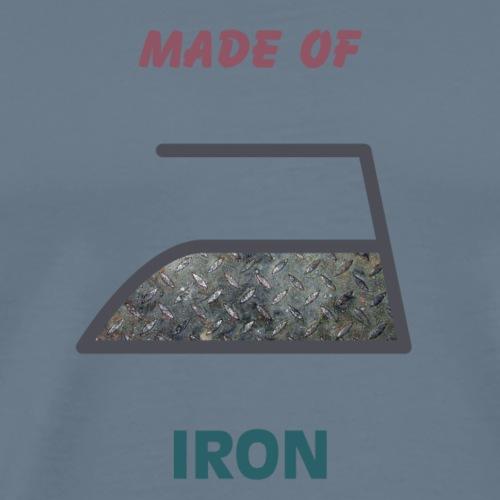 Made of iron - Mannen Premium T-shirt